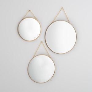 Espelhos redondos dourados, NÉO (lote de 3) La Redoute Interieurs