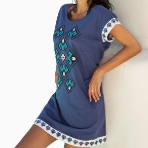 Robe de Plage Blue Ethnic ADMAS