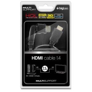 Câble HDMI  1.6 pour XBOX 360 BIG BEN