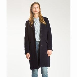 Lange jas in wol en katoen LEVI'S