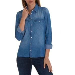 Chemise en jean avec poches poitrine appliquées BETTY BARCLAY