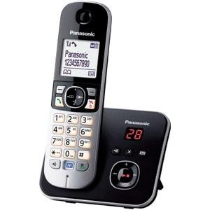 Téléphone répondeur sans fil PANASONIC TG6821FRB PANASONIC
