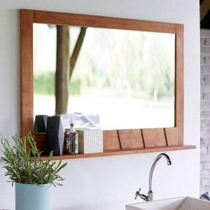 Miroir en bois de teck Icone 100x70 TIKAMOON