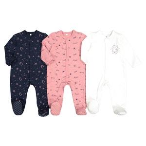 Set van 3 geboorte pyjama's in katoen prema-2 jaar