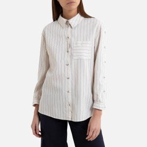 Camisa a rayas de manga larga SHINY