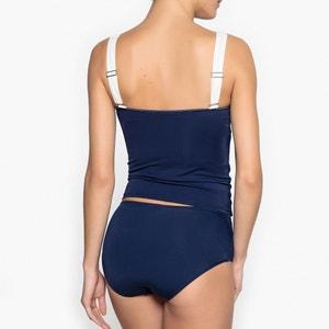 Haut de maillot de bain forme tankini bicolore ANNE WEYBURN