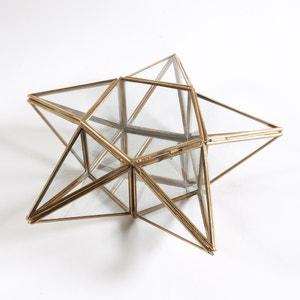Коробка для украшений в форме звезды из стекла и латуни Uyova La Redoute Interieurs