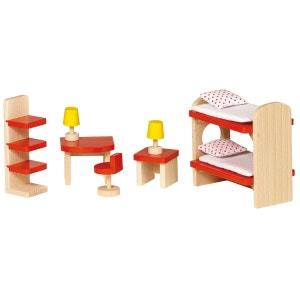 Maison de poupées : Mobilier chambre d'enfants GOKI