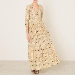 Bedrukte lange jurk STELLA FOREST