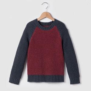 Ciepły dwukolorowy sweter 3-12 lat abcd'R