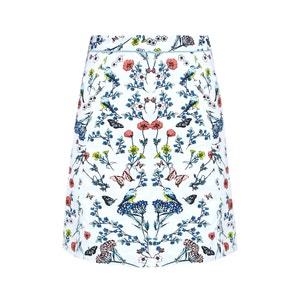 Knee-Length Floral Printed Skirt YUMI