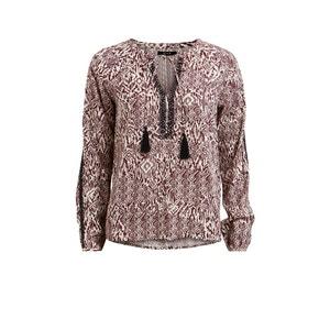 Bedrukte blouse Vietno VILA