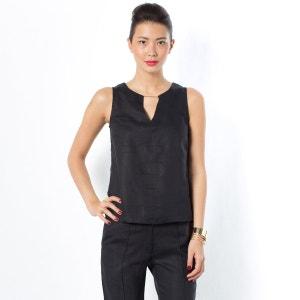 Рубашка без рукавов La Redoute Collections