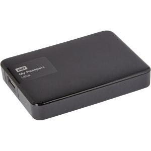Disque dur externe de poche WD 2,5 2To My Passport Ultra Noir WESTERN DIGITAL
