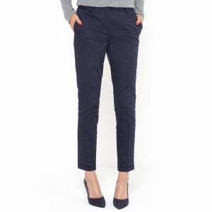 Spodnie 7/8 z bawelny ze streczem R essentiel