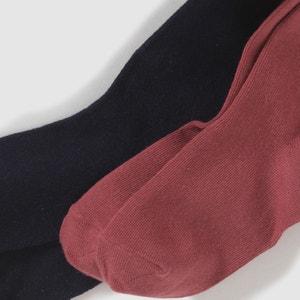 Collants lisos (lote de 2) La Redoute Collections