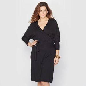 Wrapover Midi Dress TAILLISSIME