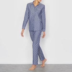 Pijama em algodão cambraia LOVE JOSEPHINE