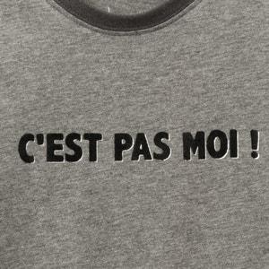 Shirt mit Aufschrift, 3-12 Jahre La Redoute Collections