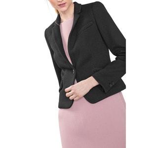 Giacca blazer in jacquard ESPRIT