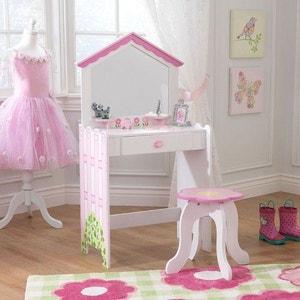 Coiffeuse et tabouret en bois Maison de poupées KIDKRAFT