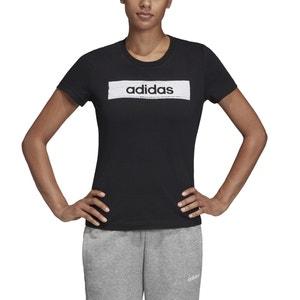 T-shirt met korte mouwen en ronde hals, logo