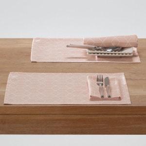 Set de table imprimé polycoton, Diamond (lot de 2) La Redoute Interieurs