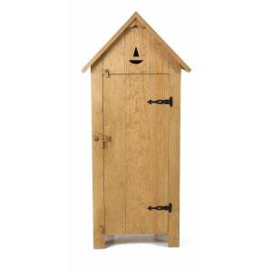 Armoire Maison Pin Massif Brut 1 Porte - Région COULEURS DES ALPES