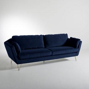 Canapé in fluweel, 3-, 4- of 5-zit, vast, Topim La Redoute Interieurs