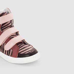 Zapatillas deportivas de caña alta, estampado tigre La Redoute Collections
