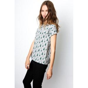 Tee shirt col rond imprimé, manches courtes COMPANIA FANTASTICA