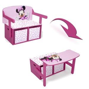 Bureau et banc avec rangement Minnie Mouse Disney DELTA
