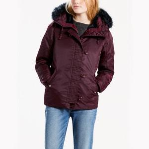 Półdługa, zimowa kurtka puchowa LEVI'S