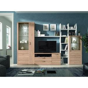 composition murale meuble tv | la redoute - Composition Meuble Tv Design