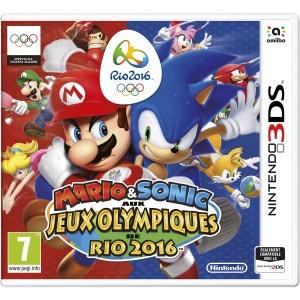 Mario & Sonic aux Jeux Olympiques de Rio 2016 3DS NINTENDO