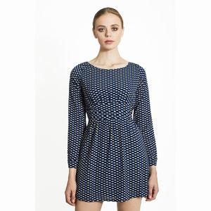 Krótka sukienka ze wzorem MIGLE+ME