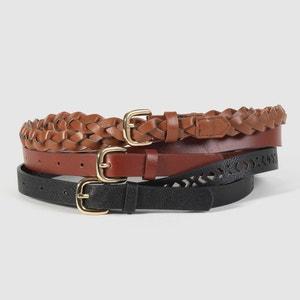 ceinture fine (lot de 3) CASTALUNA