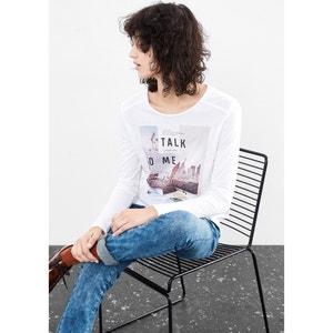 Tee-shirt manches courtes imprimé S OLIVER