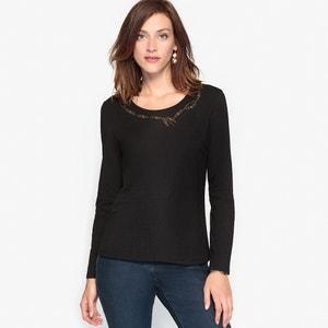 T-shirt, in puro cotone pettinato ANNE WEYBURN