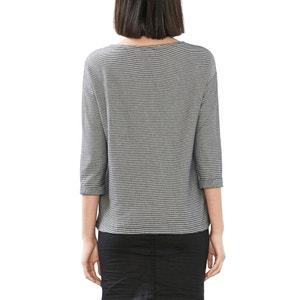 Camiseta marinera a rayas manga 3/4 ESPRIT