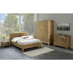 Chambre a coucher bois massif | La Redoute