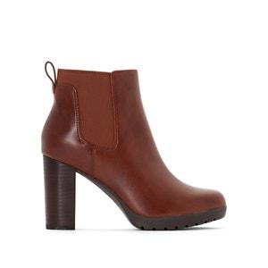 Boots en cuir à talon ELIPSA DEE CLARKS