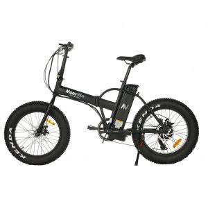 Vélo électrique MOOVWAY Fat Bike noir MOOVWAY