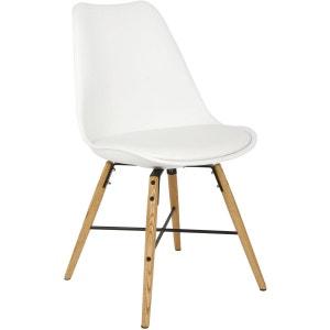 Chaise scandinave blanche la redoute - Chaise scandinave la redoute ...