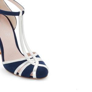 Zapatos salomé de tacón con detalle de metal MADEMOISELLE R