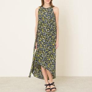 Asymmetrisches Kleid, bedruckt CEDRIC CHARLIER