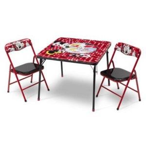BABY-WALZ L'ensemble table + chaises Disney
