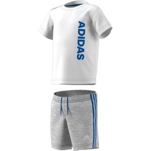 Conjunto T-shirt e calções de desporto, 3 meses-4 anos ADIDAS