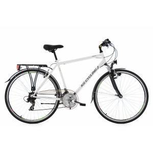 VTC homme 28'' Vegas blanc TC 58 cm guidon plat KS Cycling KS