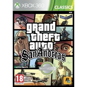 Grand Theft Auto : San Andreas XBOX 360 ROCKSTAR GAMES